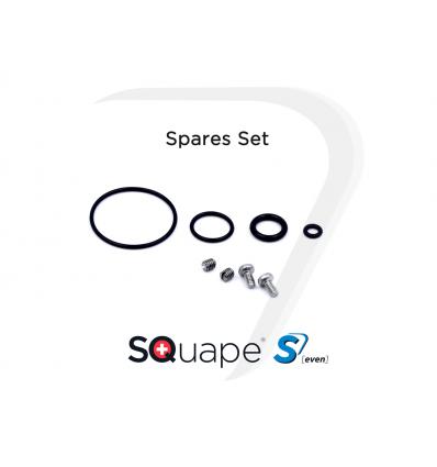 SQuape S[even] BF RDA tarpinės ir varžtai