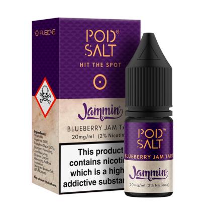 Pod Salt Blueberry Jam Tart