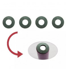 Baterijos izoliacinis žiedas