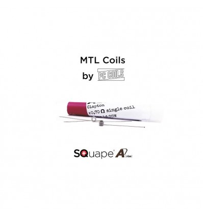 SQuape A[rise] PC Coils kaitinimo spiralės