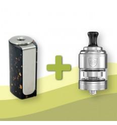 Amerpoint Stone Mini Box 18350 baterijos modifikacija