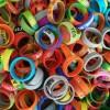 Dekoratyvinis silikoninis žiedas