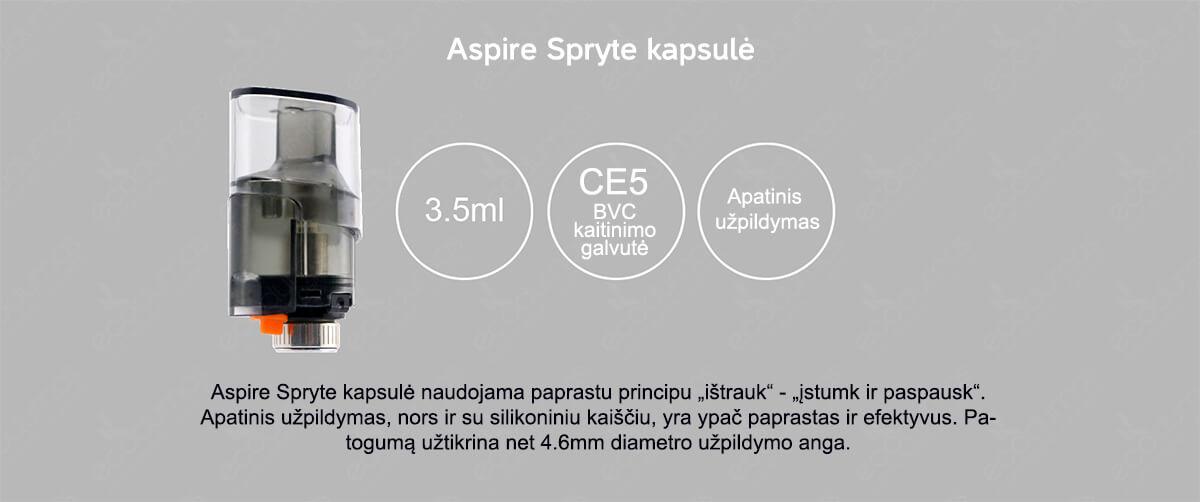 Aspire Spryte - Kapsulė
