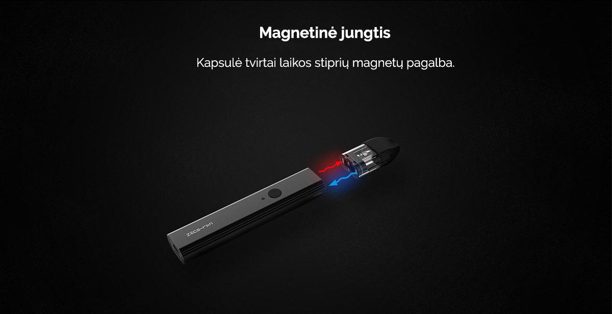 Uwell Caliburn magnetinė jungtis