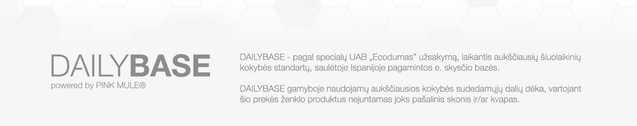 DAILYBASE - pagal specialų UAB Ecodumas užsakymą