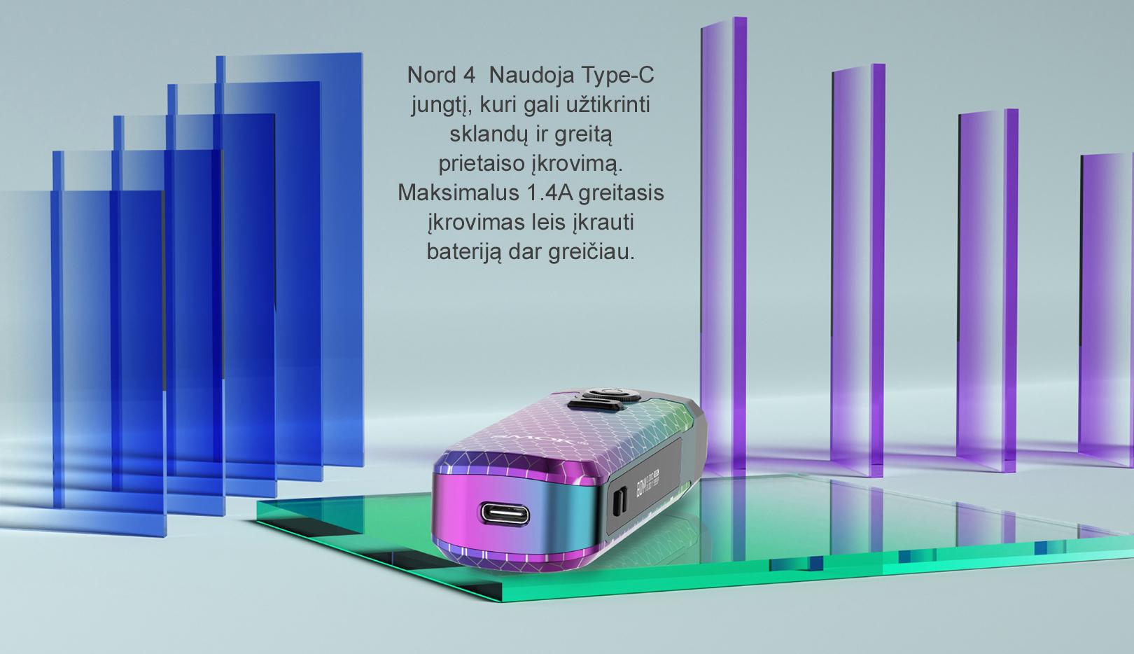 SMOK Nord 4 naujasis įrenginys